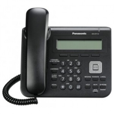 Телефон IP Panasonic KX-UT113RU-B - IP телефоны (VoIP, SIP телефоны)