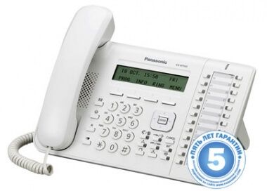 Телефон IP системный Panasonic KX-NT543RU - IP телефоны (VoIP, SIP телефоны)