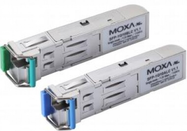 Модуль SFP-1G40ALC-T Interface module 1x1000 single fiber port, LC, 40Km, needs B module, t:-40/+75 - Модули SFP