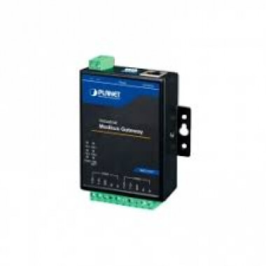 Industrial 2-port RS422/485 Serial to Ethernet Modbus Gateway, -40~75 degrees C, 9~48V DC - Преобразователи протоколов